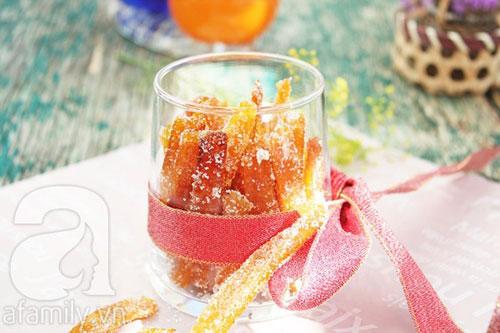Làm mứt vỏ cam rất thơm và dễ - 12