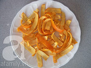Làm mứt vỏ cam rất thơm và dễ - 3