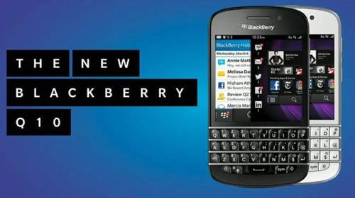 BlackBerry Q10: Cổ kim kết hợp - 3