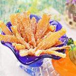 Ẩm thực - Làm mứt vỏ cam rất thơm và dễ