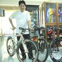 Thú chơi xe đạp ở Đà thành