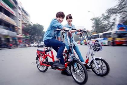 Xe đạp điện HKBike bảo hành 3 năm - 1