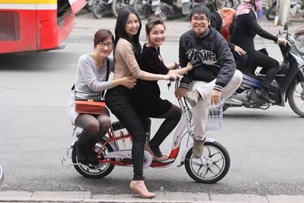 Xe đạp điện HKBike bảo hành 3 năm - 2