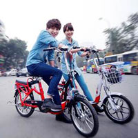 Xe đạp điện HKBike bảo hành 3 năm