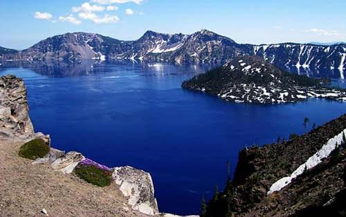 Vẻ đẹp huyền bí của công viên Crater Lake - 2