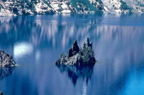 Vẻ đẹp huyền bí của công viên Crater Lake - 5