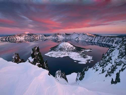 Vẻ đẹp huyền bí của công viên Crater Lake - 6