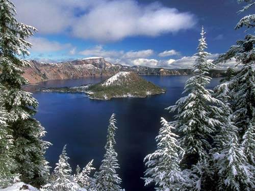 Vẻ đẹp huyền bí của công viên Crater Lake - 7