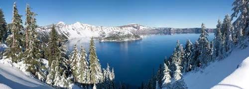 Vẻ đẹp huyền bí của công viên Crater Lake - 8
