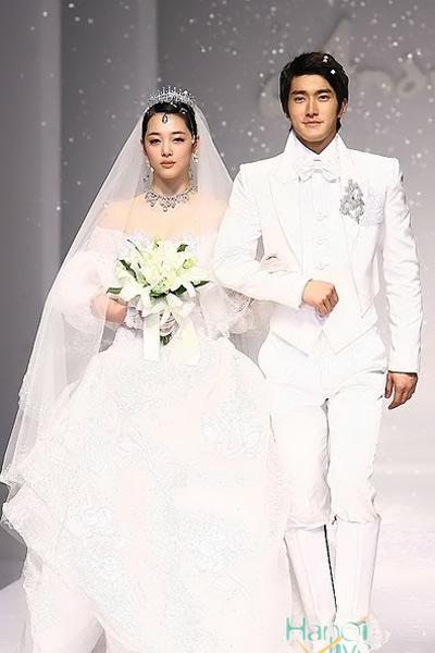 8 bộ đầm cưới đẹp mê ly của sao Hàn - 7