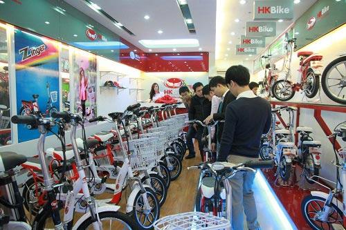 """Xe đạp điện HKBike: """"Mốt"""" tặng quà tết - 5"""