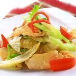 Ẩm thực - Đổi món với thịt gà nạc xào chua cay