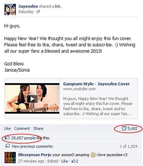 "2 cô gái ""cover"" Gangnam Style gây sốt - 2"