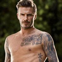 """Beckham mặc """"chip"""" tung tăng ngoài phố"""