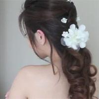 Kiểu tóc sang trọng dành cho cô dâu
