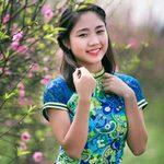 Bạn trẻ - Cuộc sống - Miss Teen Thu Trang xinh như nụ đào xuân
