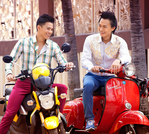 Mặc sắc màu như thanh niên Sài Gòn - 13