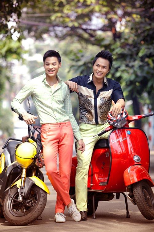Mặc sắc màu như thanh niên Sài Gòn - 12