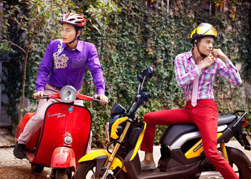 Mặc sắc màu như thanh niên Sài Gòn - 2