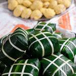 Ẩm thực - Kỳ công bánh chưng Tranh Khúc