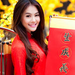 Thời trang - Ngắm Linh Chi trên phố Xuân Sài Gòn