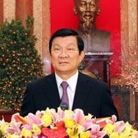 Chủ tịch nước chúc mừng Tết Quý Tỵ