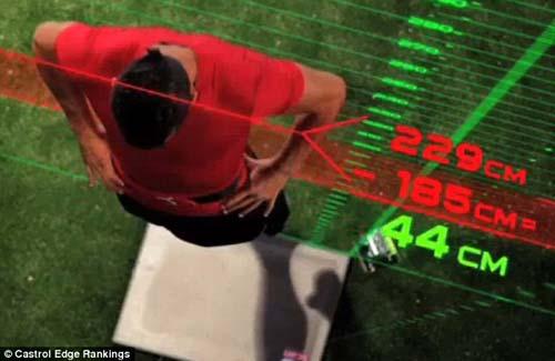 Phân tích khả năng bật cao của Ronaldo - 2
