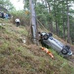 An ninh Xã hội - Xe tải tuột đèo cuốn 3 xe máy, 6 người chết