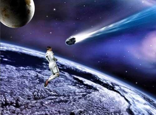 Biếm họa: CR7 đánh đầu giải cứu thế giới - 1