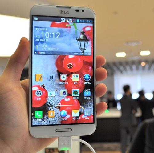 """Hàng """"khủng"""" Optimus G Pro ra mắt tại Hàn Quốc - 1"""