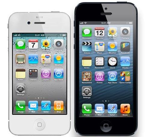 iPhone 5 và 4S thắng lớn trong quý IV - 2