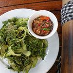 Ẩm thực - Còn mê rau nướng sau vườn