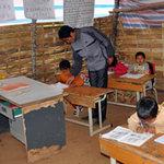 Giáo dục - du học - Trường học tạm dọc dài biên ải