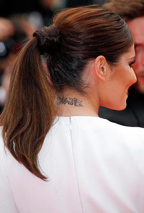 Khám hình xăm khắp cơ thể Cheryl Cole - 10