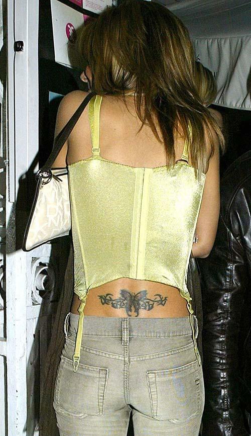 Khám hình xăm khắp cơ thể Cheryl Cole - 7