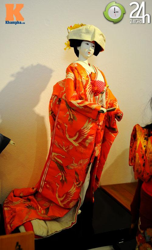 Bộ sưu tập búp bê truyền thống Nhật Bản - 3