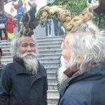 """Phi thường - kỳ quặc - """"Dị nhân tóc rồng"""" xuất hiện ở hội Lim"""