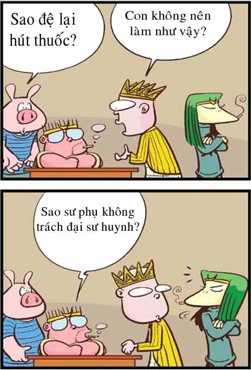 Tây Du Ký hài: No smoking! - 1