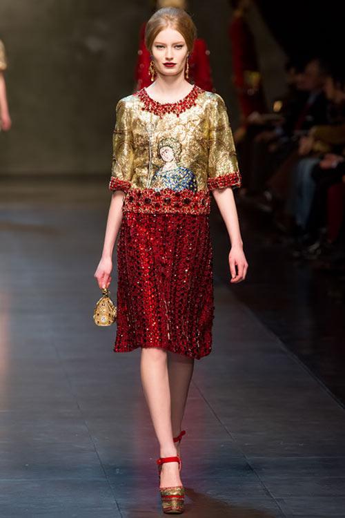"""Dolce & Gabbana lại gây """"thổn thức"""" - 6"""