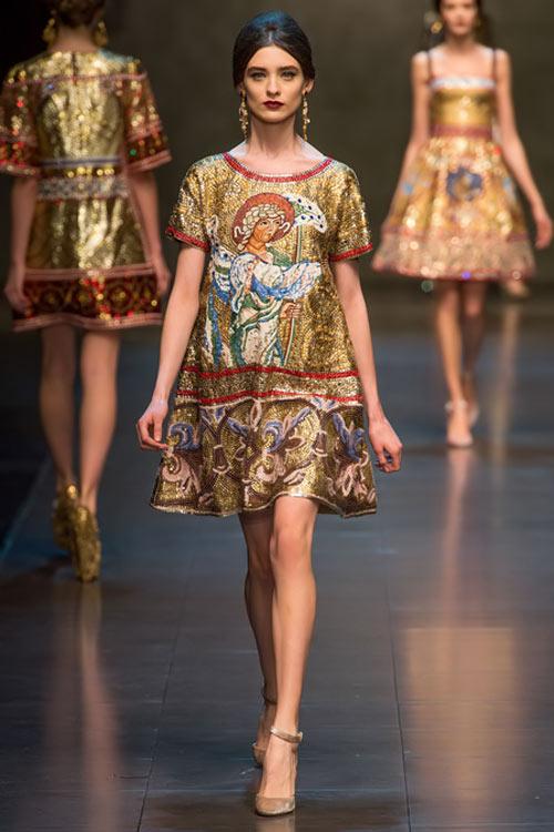 """Dolce & Gabbana lại gây """"thổn thức"""" - 5"""