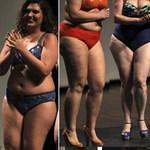 """Thời trang - Dàn mẫu """"ngoại cỡ"""" náo loạn sàn catwalk"""