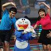 Phan Anh, Thái Trinh trẻ hóa với Doraemon