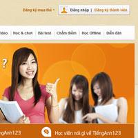 TiếngAnh123.Com: Học tiếng Anh online tại Việt Nam