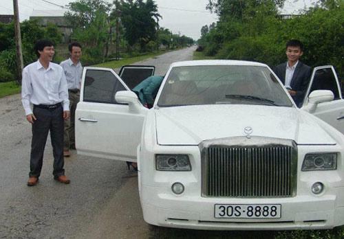 """Rolls-Royce """"nhái"""" xuất hiện tại Việt Nam - 1"""