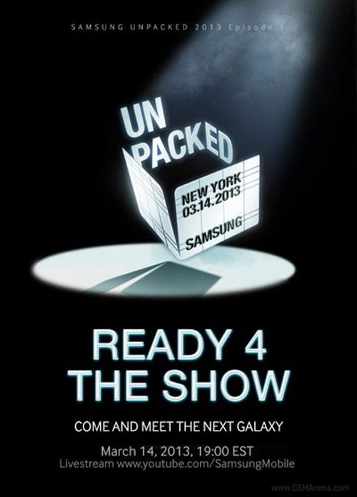 Samsung Galaxy S4 chốt ngày ra mắt - 1