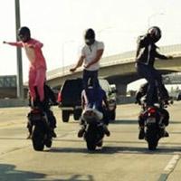 """Video: môtô """"nhảy"""" điệu Harlem Shake"""