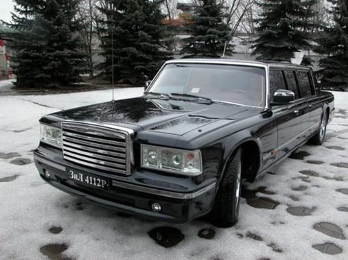 Tổng thống Putin thất vọng với xe sang Nga - 2