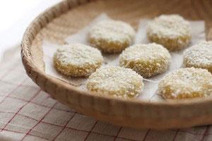 Bánh nếp khoai lang tẩm dừa cực ngon - 8