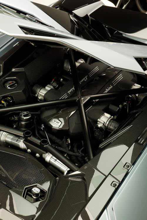 Aventador Roadster 2013: Thỏa mãn dân chơi - 14