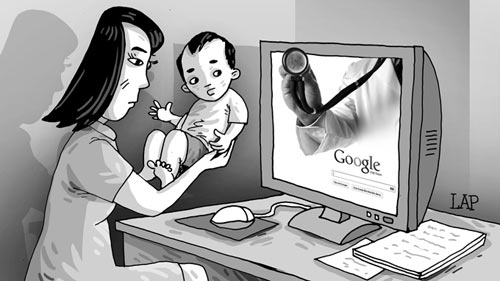 """Chết vì tin """"bác sĩ"""" Google - 1"""